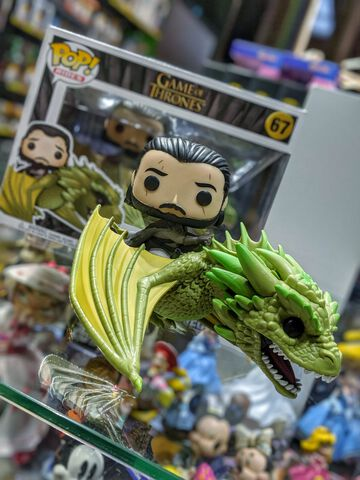 Figurine Funko Pop! N°67 - Game Of Thrones - Jon Snow Avec Rhaegal