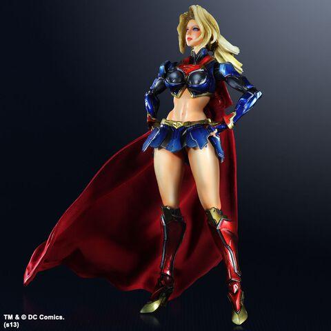 Figurine - Dc Comics - Variant Play Arts Kai Vol 3 Figurine Supergirl 26 Cm