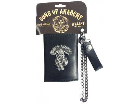 Portefeuille - Sons Of Anarchy - Avec Chaînette Logo