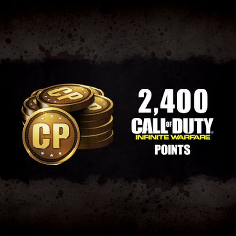 DLC - Call of Duty Infinite Warfare 2400 Points - PS4