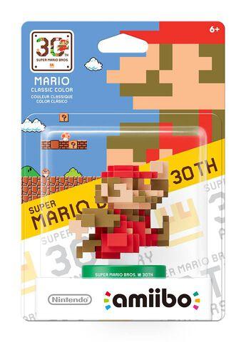 Figurine Amiibo Mario Couleur Classique Rouge