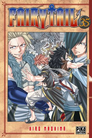 Manga - Fairy Tail - Tome 35
