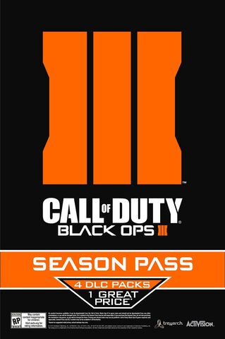 Season Pass - Call of Duty : Black Ops III - PS4