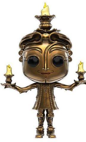 Figurine Funko Pop! N°244 - La Belle et la Bête - Lumiere