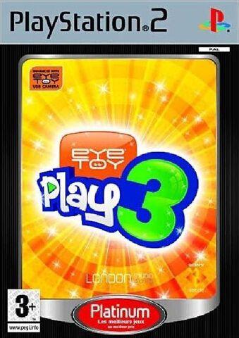 EyeToy Play 3 Platinum