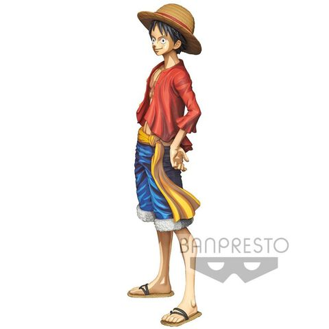 Figurine Grandista - One Piece - Monkey D. Luffy Manga Dimensions