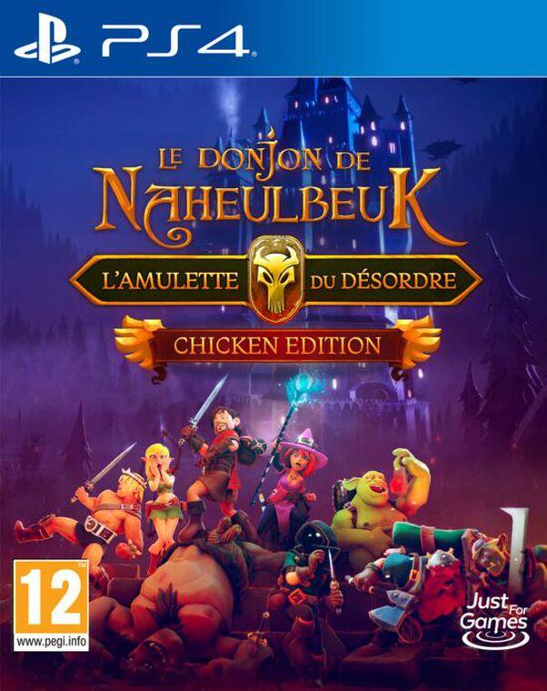 Le Donjon De Naheulbeuk L'amulette Du Désordre Chicken Edition