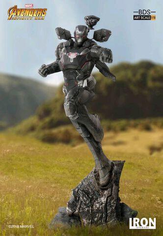 Statuette Iron Studio - Avengers : Infinity War - War Machine BDS Art Scale