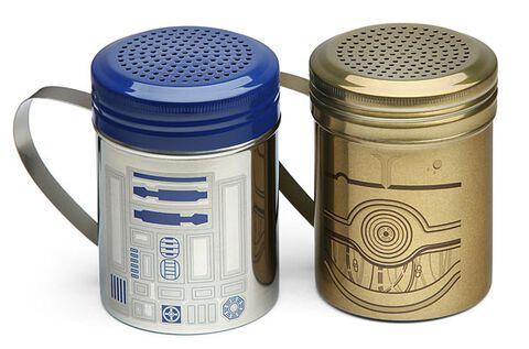 Pot A Epices - Star Wars - R2d2 Et C-3po  (exclu Gs)