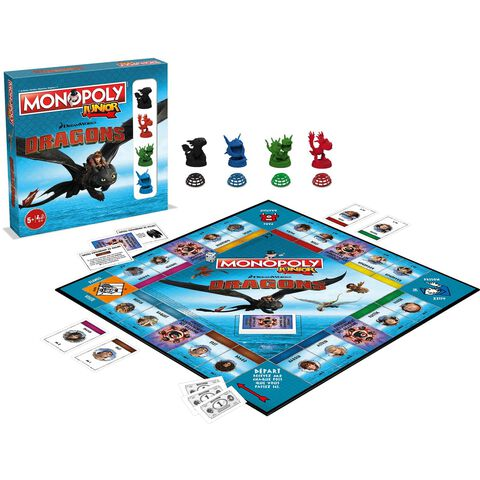 Monopoly Junior - Dragons