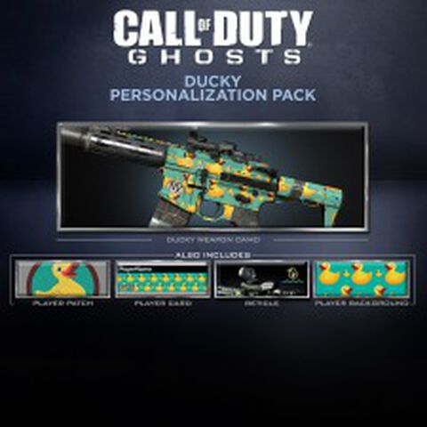 DLC - Call of Duty : Ghosts Pack Canard