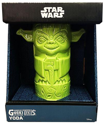 Verre - Star Wars - Geeki Tiki Yoda - Exclusif Micromania - GameStop