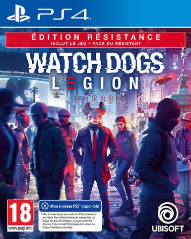 Watch Dogs Legion Edition Resistance - Versions PS5 et