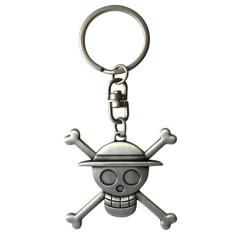Porte-clés - One Piece - Crâne de Luffy 3D