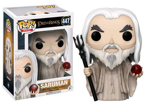Figurine Funko Pop! N°447 - Le Seigneur des Anneaux - Saruman