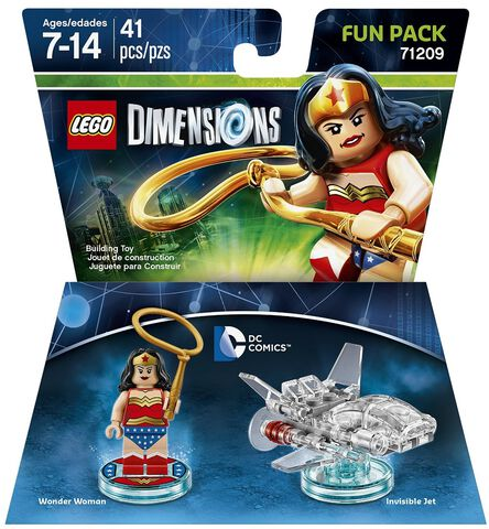 Figurine Lego Dimensions Wonder Woman - DC Comics