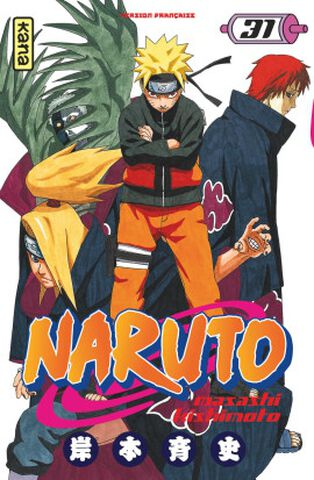Manga - Naruto - Tome 31