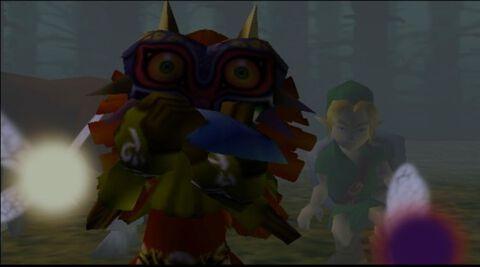 The Legend of Zelda Majora's Mask (Nintendo 64)