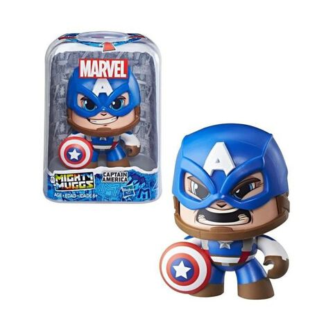 Figurine - Marvel - Mighty Muggs Captain America