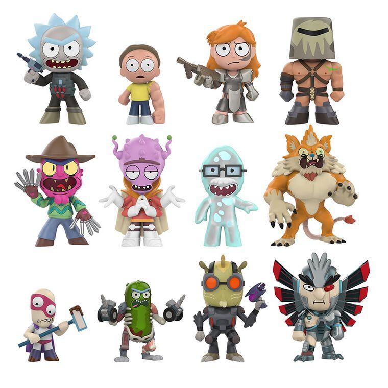 Figurine Mystère - Rick et Morty - Série 2