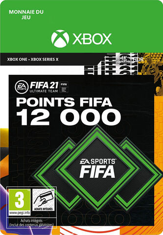 FIFA 21 - Xbox One- Series - FIFA Ultimate Team - 12000 Pts