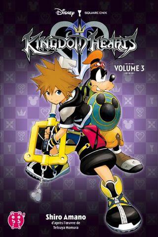 Manga - Kingdom Hearts 2 - Tome 3