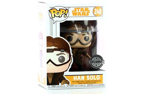 Figurine Funko Pop! N°248 - Star Wars - Han Solo avec lunettes