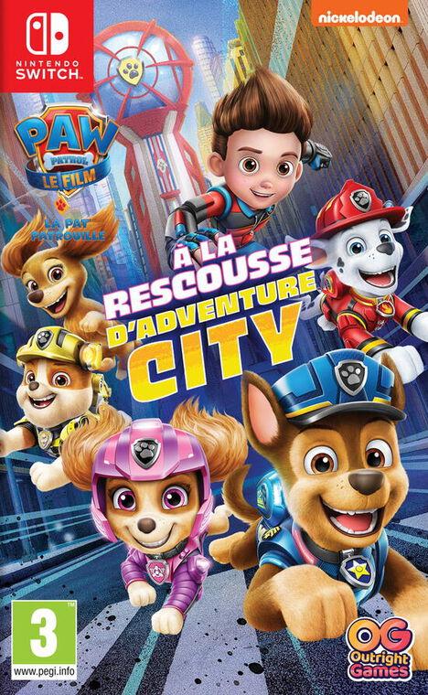 Pat Patrouille A La Rescousse D'adventure City