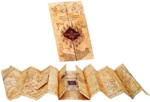 Réplique - Harry Potter - Carte du Maraudeur