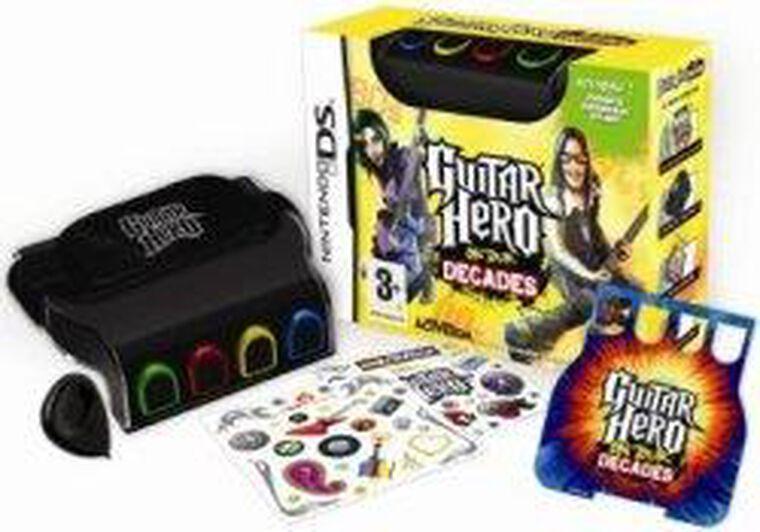 Guitar Hero, On Tour Decades + Grip