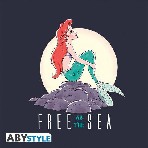 Trousse à maquillage - La Petite Sirene - Free As The Sea - Bleu