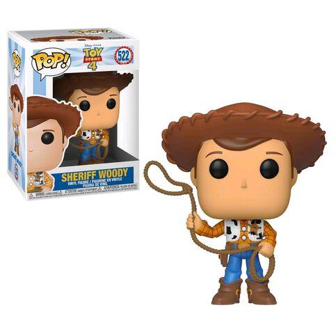 Figurine Funko Pop! N°522 - Toy Story 4 - Sheriff Woody