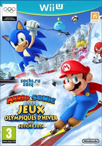 Mario & Sonic Aux Jeux Olympiques D'hiver De Sotchi 2014
