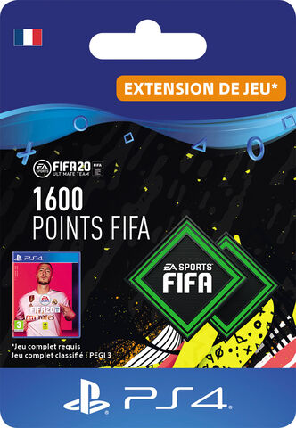FIFA 20 - Ps4 - FIFA Ultimate Team - 1600 Pts
