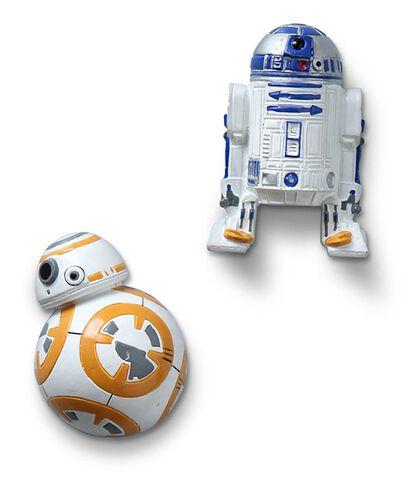Magnet - Star Wars - Droïdes Bb8 Et R2-d2 (exclu Gs)
