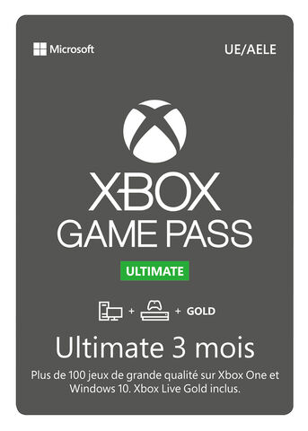Xbox Ultimate Game Pass 3 Mois