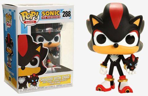 Figurine Funko Pop! N°288 - Sonic - Shadow Gitd (exclusivité Micromania - Zing)