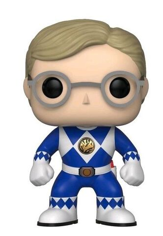 Figurine Funko Pop! N°673 - Power Rangers - Ranger Bleu (sans casque)