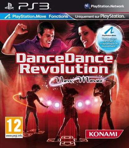 Dancedancerevolution : New Moves + Tapis