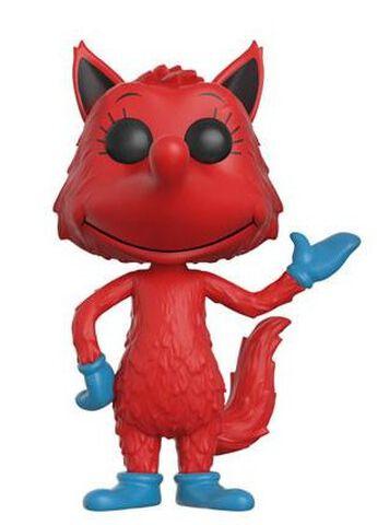 Figurine Funko Pop! N°07 - Dr. Seuss - Fox In Socks Flocked - Exclusivité Micromania-Zing