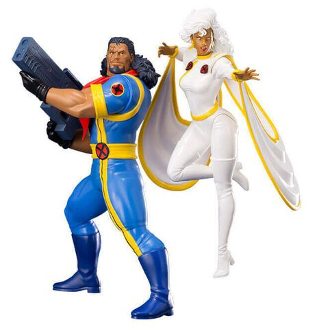 Statuette Kotobukiya - X-men - Bishop & Tornade