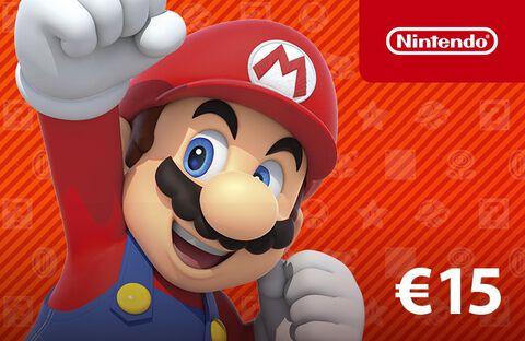 Carte Nintendo Eshop 15 Euros