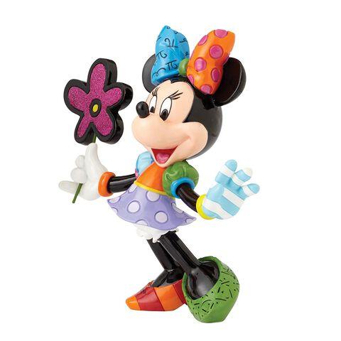 Statuette -  Mickey -  Britto - Minnie Mouse avec fleurs