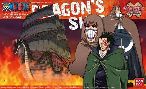 Maquette - One Piece - Dragon