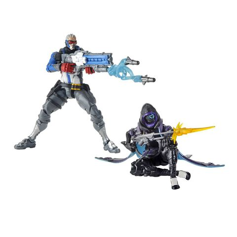 Figurine Collectible Action Figure - Overwatch Ultimate - Ana et Soldier - Twin