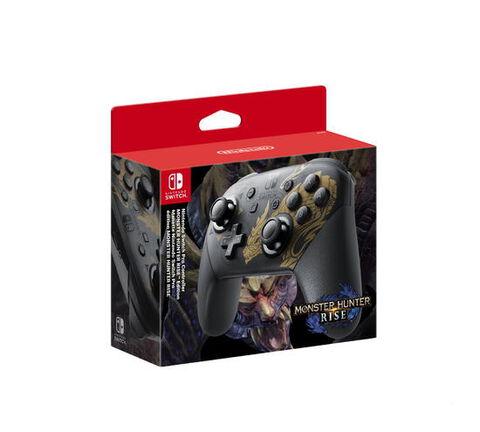 Manette Nintendo Switch Pro Edition Limitée Monster Hunter Rise