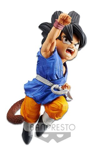 Figurine - Dragon Ball Gt : L'attaque Du Dragon - Sangoku