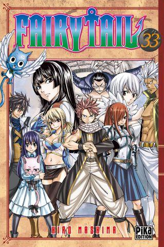Manga - Fairy Tail - Tome 33
