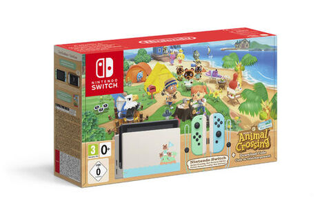 Pack Nintendo Switch Animal Crossing New Horizons (code) Edition Limitée