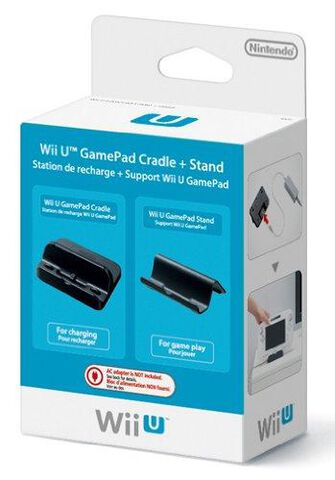 Station De Recharge + Support Wii U Gamepad